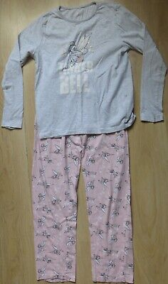 Girls Disney Tinkerbell Pyjamas Age 12-13 Years