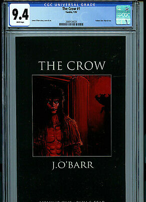 The Crow #4 First Print Signed J O/'Barr PGX 9.0 not CGC