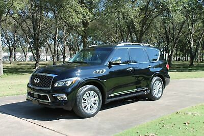 2016 INFINITI QX80 Signature Edition 1 Owner One Owner Perfect Carfax Signature Edition TV/DVD New Michelins Ext Warranty