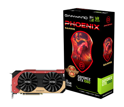 TOP Gainward GeForce GTX 1060 6GB Phoenix Golden Sample (GS) Aktiv