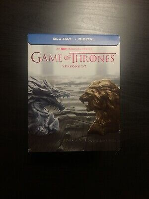 Game of Thrones: The Complete Seasons 1-7 Blu-Ray And Digital Box Set