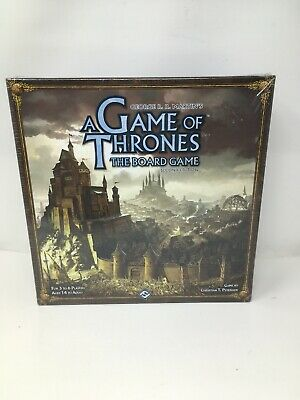 Game of Thrones The Board Game Second Edition Brand New