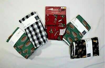 Five (5) NEW NWT Mens GAP MERONA Boxers Boxer Shorts Underwear Small plaid/Misc
