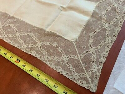 antique table runner lace cotton banquet party wedding holiday vintage elegant