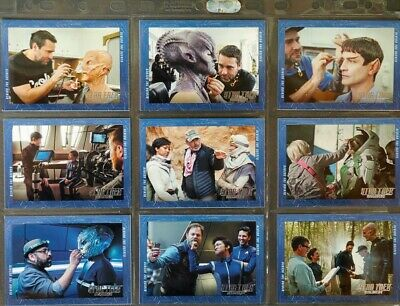 Star Trek Discovery Complete Behind The Scenes Sub-Set 18 cards - Season One