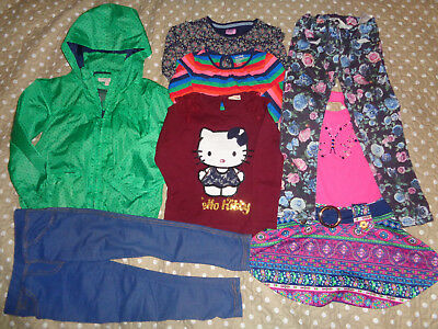 Girls bundle M&S H&M Hello Kitty Gap raincoat tops 4-5 5-6 yrs FREE P&P