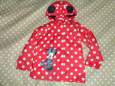 Minnie Mouse girls coat 5 yrs Disney store very good cond FREE P&P
