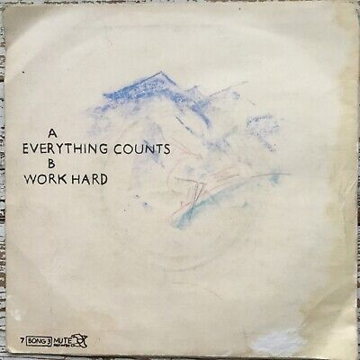 Depeche Mode, Everything Counts, Electronic/Synthpop, 45RPM Vinyl Single 7-inch