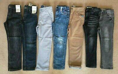Large Bunde Of 7 Jeans And Trousers Age 6-7 some BNWT TU Blue Zoo Denim Co