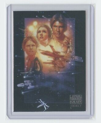 2009 Topps Star Wars Galaxy Series 4 #55 Art Of Star Wars SE Poster: Episode IV