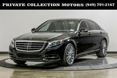 2015 Mercedes-Benz S-Class  2015 Mercedes-Benz S 600 S-Class Four Place Seating $174,085 MSRP
