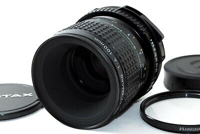 *EXC+*Pentax SMC P 67 Macro 100mm F4 Lens For 6x7 67II from JAPAN