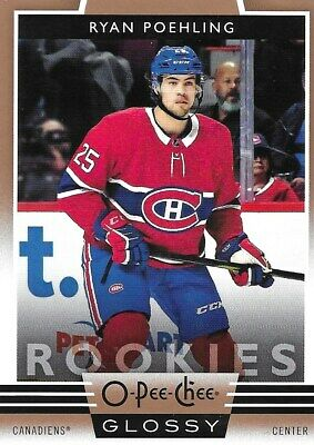 19-20 2019-20 UD Tins Only Ryan Poehling OPC COPPER Glossy ROOKIE #R-8 Canadiens