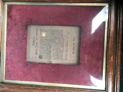 ulster covenant- ulsters solemn league and covenant 1912 signed by j gibson