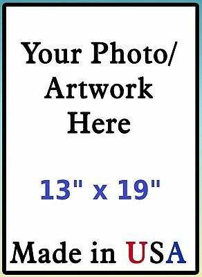 Print Your Own Photo Image Poster Flyer Wall Art Custom Prints 13x19 Glossy USA