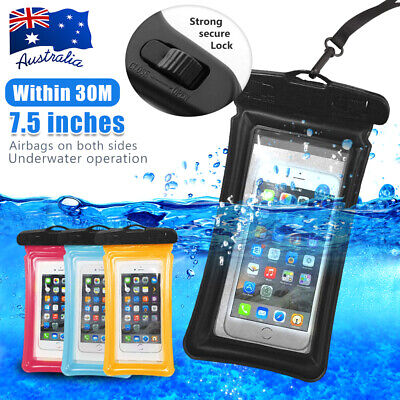 Floating Waterproof Underwater Phone Case Dry Bag Pouch iPhone 8 X XS 11 Max Pro