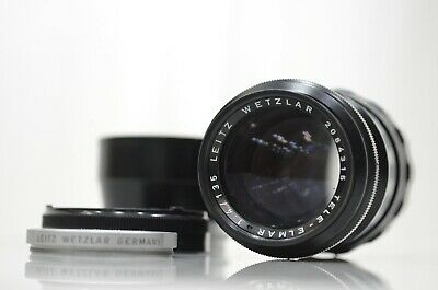 Leica Leitz Wetzlar TELE-ELMAR 135mm f4 f/4 in SOLD AS IS condition from Japan