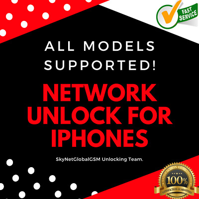 UNLOCK YOUR iPHONE TO USE ANY NETWORK WORLDWIDE AT&T ATT iPhone X XR XS MAX 11