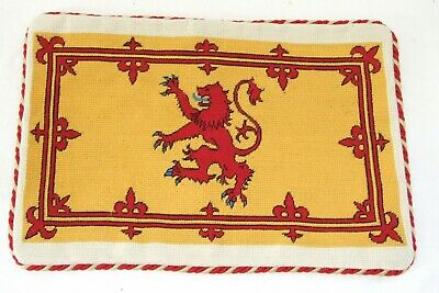 Kings Royal Hussars  Regiment Needlepoint Cushion Cover Tapestry Handmade