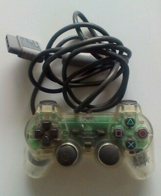 Official Sony Playstation 1 PS1 PSOne Analog Controller - Transparent