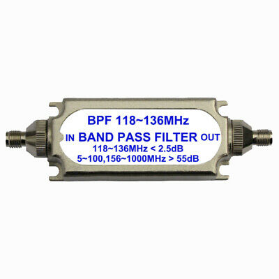 Kit Band Pass Filter Parts Electronics 118-137MHz Accessories Connector