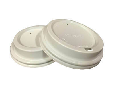 1000 x Paper Cups SIP LIDS- 8 oz lids for Specialty Coffee Cups