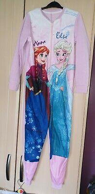 girls frozen all in one age 9-10 years from George
