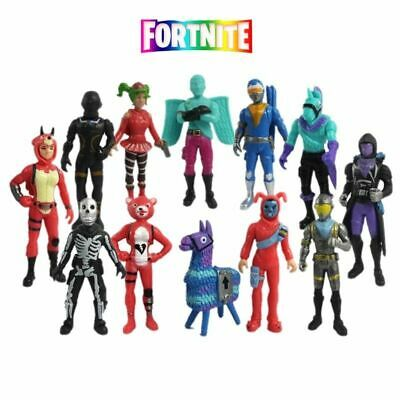 New 12pcs Fortnite Battle Royale Action Figures Kids Toy Collection Xma2 Gift UK