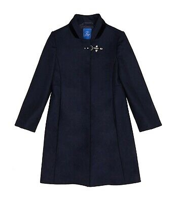 Cappotto Fay bimba Virginia NBS50398010 blu AI19