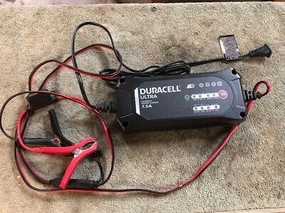 Duracell SLC10005 7.5A ULTRA BATTERY CHARGER