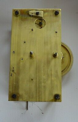 Antique Brass Weight Driven Regulator Clock Movement Seth Thomas??
