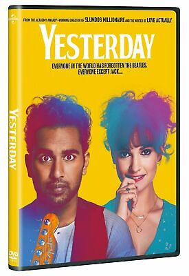 Yesterday [DVD] (2019)   New & Sealed   Fast UK Shipping