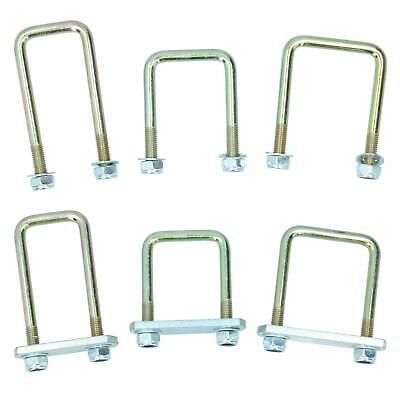 M10 U-Bolt N-Bolt & Nuts High Tensile for Boat Trailers Square