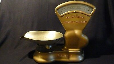 "Toledo Antique Candy Scale 3lb ""Honest Weight"" No Springs"