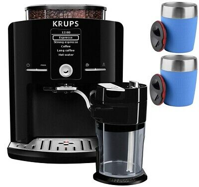 KRUPS EA8298 Kaffeevollautomat One-Touch-Funktion LC Display +2 EMSA TRAVEL CUP
