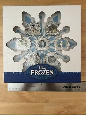 Disney D23 Expo Music of Frozen 7-Pin Set (LE 500) Anna Elsa Olaf Kristof Sven