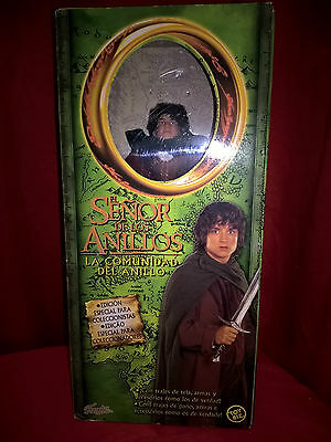 "The Lord Of The Rings Lotr Frodo 12"" Inch Deluxe Toy Biz 2001 Marvel Mib"