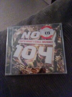 NOW THAT'S WHAT I CALL MUSIC 104 Double CD Set (NOW 104) - VARIOUS ARTISTS (NEW)