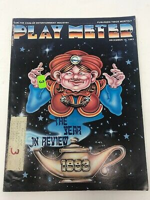 Play Meter Magazine December 1983 Pinball Video Games Year In Review