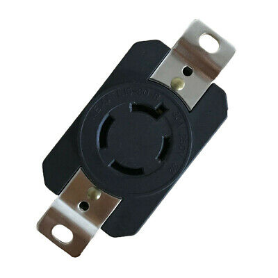 1x L15-20 Power Supply Outlet Adapter Locking Sockets 20A 250V Parts Replacement