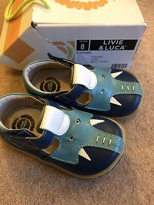 Livie And Luca Elephant Shoes Toddler UK 7, With Box, Worn Once