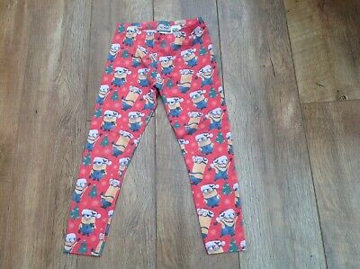 Girl's Next Christmas Despicable Me Leggings. Age 8 Years (7-8y)