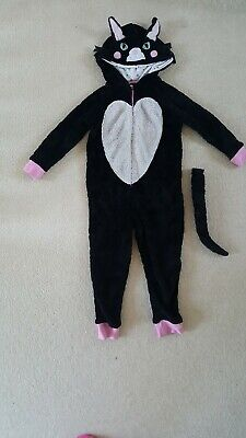 Cat all in one suit Girls Age 4-5yrs