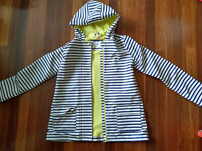 Blue/white/yellow John Lewis coat, Age 12, Excellent Condition, hardly worn!