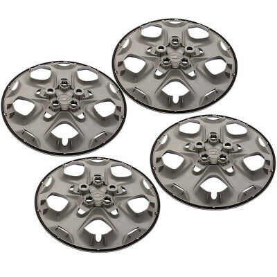 4x Front Rear 17inch Bolt-on Hubcaps Wheelcover For FORD FUSION 2010 2011 2012