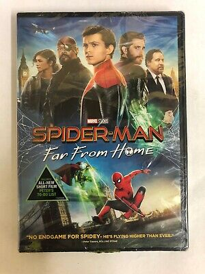 Spider-Man: Far From Home (DVD, 2019) Fast Free Shipping!