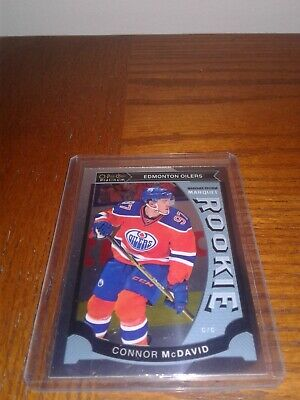 2015-16 O-Pee-Chee Platinum Marquee Rookie #M1 Connor McDavid Edmonton Oilers RC