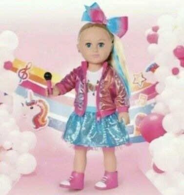 My Life As JoJo Siwa Doll, 18-inch Blonde Hair,Dance Party, New Fast shipping!!