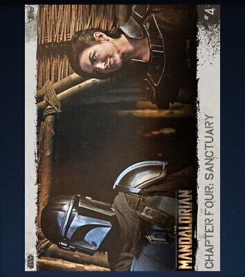 TOPPS SWCT The Mandalorian Chapter Four - #4 **Grey**