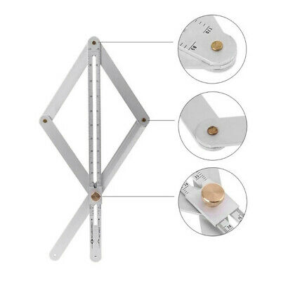 Stainless Steel Corner Angle Finder Ceiling Artifact Tool Square Protractor ZH